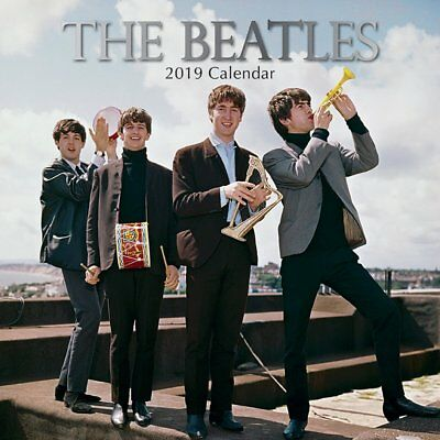 **NEW** The Beatles 2019 Square Wall Calendar by Gifted Stationery