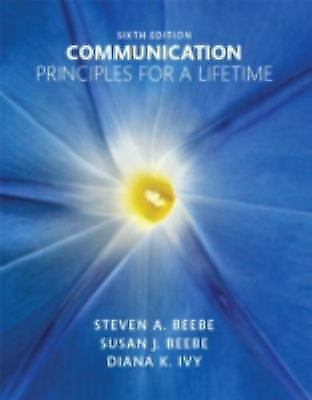 Communication: Principles for a Lifetime 6th Ed/ *PDF*