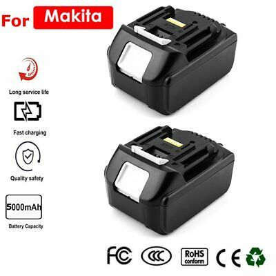 2X18V 5.0Ah REPLACE BL1830 BATTERY LXT400 LITHIUM-ION FOR Makita BL1845 CORDLESS