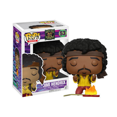 Funko Pop Rock Series: Jimi Hendrix Monterey Pop Festival Version 53 New Japan