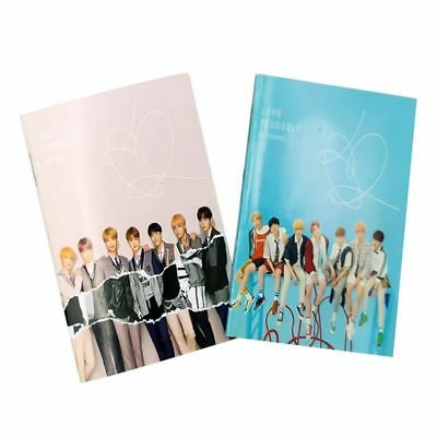2x KPOP BTS Stationery Notebook Bangtan Boys Cover Diary Book Supply New Funny