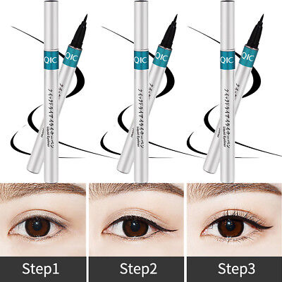 36H Waterproof Eye Liner Pencil Black Liquid Eyeliner Pen Lasting Beauty Makeup
