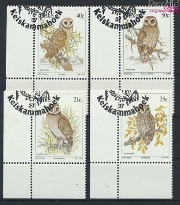 Fine Used / Cancelled 1 Lovely South Africa 9253076 Ciskei Block6 complete Issue