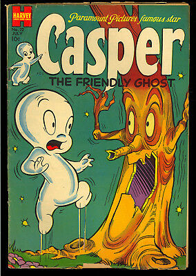 Casper the Friendly Ghost #22 Nice Early Issue Harvey Comic 1954 VG-