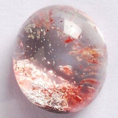 Y83506 15x13x8 Multi-color Phantom Quartz Freeform CAB Cabochon