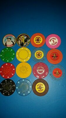 Holiday Casino Chips  (15)