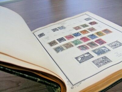 GERMANY & AREA, Excellent Stamp Collection hinged/mounted in a 1939 Scott Specia
