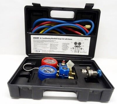OEM 84661-AZ Air Conditioning Manifold Gauge Set with Hoses 3/L147412A