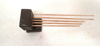 Set of 5 Complete Chime Rods & Base For Chiming Mantle or Wall Clock