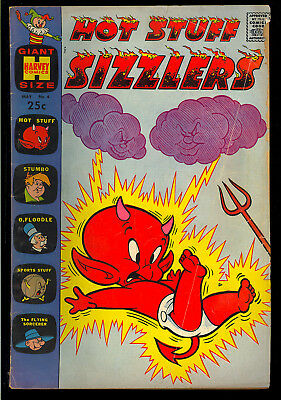 Hot Stuff Sizzlers #4 Nice Tough Early Issue Harvey Giant Comic 1961 GD-VG