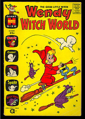 Wendy Witch World #1 Nice Tough First Issue Harvey Giant Comic 1961 GD+