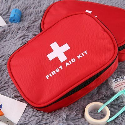 First Aid Kit Bag Travel Camping Sport Medical Emergency Survival Bag Empty I8R9