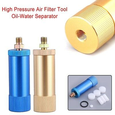 High Pressure Pump Oil Water Separator Alloy Filter for 40mpa PCP Air Compressor