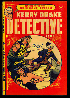 Kerry Drake Detective Cases #24 High Grade Harvey File Copy Comic 1951 VF-