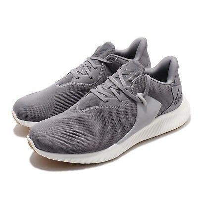 reputable site abd2d 2d285 adidas Alphabounce RC 2.0 Grey White Gum Men Running Shoes Sneakers D96522