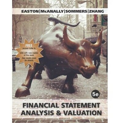 [PDF] Financial Statement Analysis, and Valuation, 5th edition 2018 E-B00K