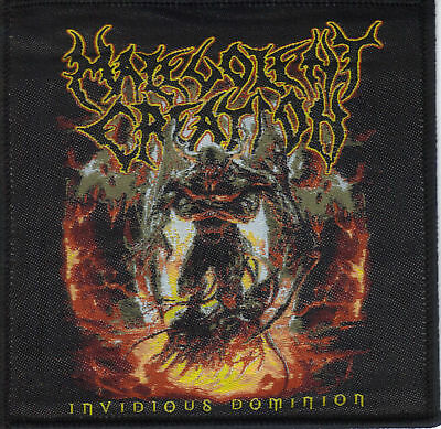 Malevolent Creation-Invidious Dominion- Woven Patch