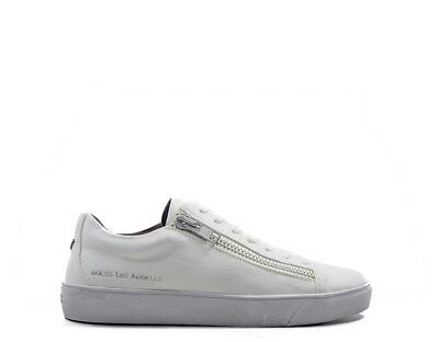 0ad6c46b862 CHAUSSURES GUESS HOMME BIANCO Cuir naturel FMHER3ELE12BIS - EUR 95 ...