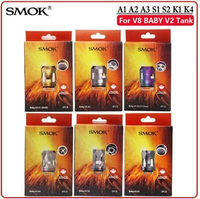 Authentic 1SMOK TFV8 Baby V2 Replacement Coils - V2 A1 A2 A3 S1 S2 USA Shipping