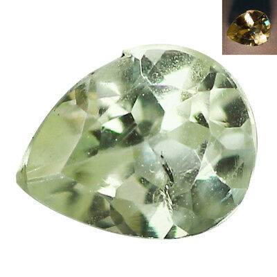 0.31Ct Amazing Pear cut 5 x 4 mm Green To Red Color Change Alexandrite