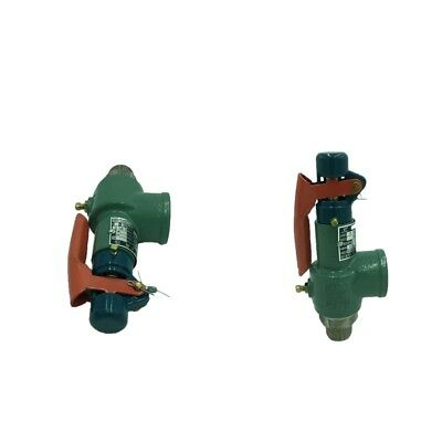 2 Pcs Auto Relief Safety Valve Safety Relief Valve for Gas Storage Tank DN20