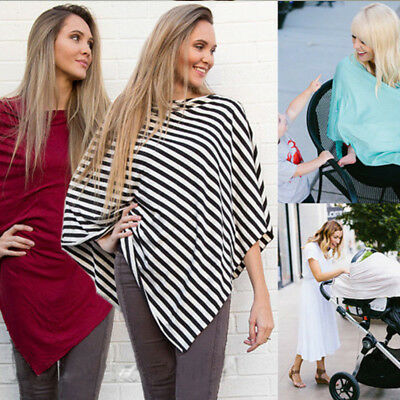 New Nursing Scarf Cover Up Apron for Baby Car Seat Canopy Cover Shawl AU