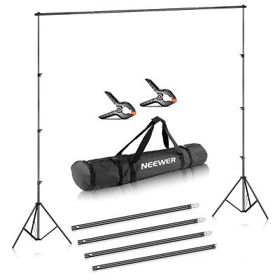 Neewer Photo Studio Adjustable Background Stand Backdrop Support System 10x12 ft