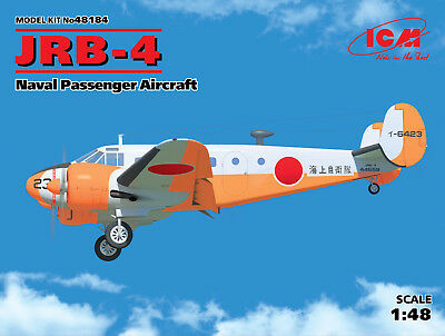 ICM 48184 JRB-4 Naval Passenger Aircraft in 1:48