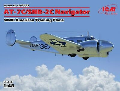 ICM 48183 WWII American Training Plane AT-7C/SNB-2C Navigator in 1:48