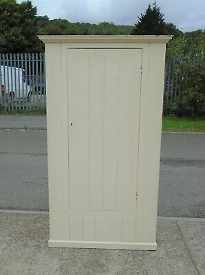 Victorian Pine Painted Cupboard / Wardrobe    Delivery Available