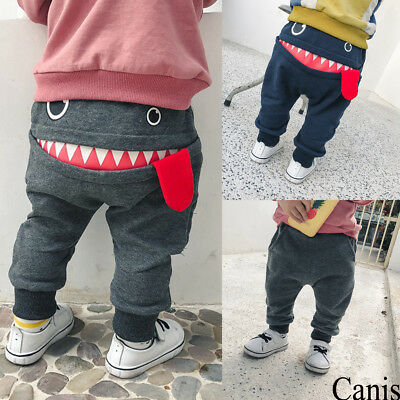Kids Toddler Baby Boy Pants Bottom Joggy Leggings Trousers Cotton Clothes Spring