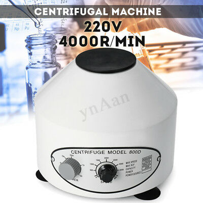 Electric Centrifuge Machine 4000rpm Timing Lower-speed Lab Medical Equipment New