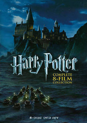 Harry Potter Complete 1-8 Collection Box Set- SAME DAY FIRST CLASS SHIPPING