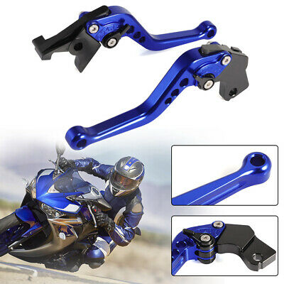 Short Brake Clutch Levers For Suzuki SV650/S 1999-2009 2000 2001 2002 03 UK Ship
