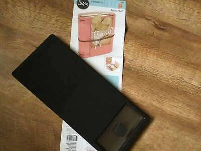 Sizzix Bigz WRAPPED JOURNAL die. Used once. Excellent