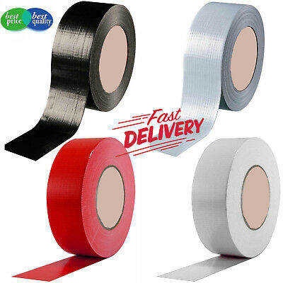 Duck strong Duct Gaffa Gaffer Waterproof Cloth Tape 48mm 2'' 50m STRONG
