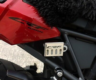 Honda CRF1000L Africa Twin (16>) Stainless Steel Brake Reservoir Guard Cover