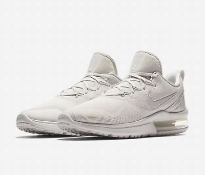 c0d0242921cd Nike Air Max Fury Men s Running Shoes Aa5739 100 White Grey Pure Platinum