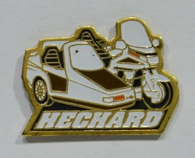 Pins Moto Side Car Hechard