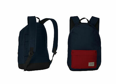 25d49571130b Timberland Crofton 22L Colour Block Navy Red Unisex Backpack A1LQQ 625 P1