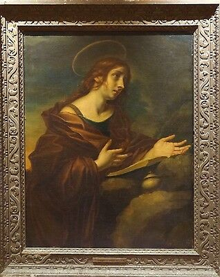 Huge Fine 17th Century Old Master Mary Magdalene Carlo DOLCI (1616-1686) Antique
