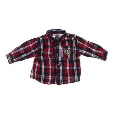 Little Rebels Baby Boys Adorable Shirt, size 18 mo,  maroon,  cotton