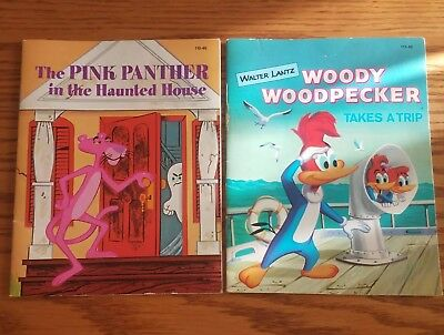 1961 1975 Pink Panther & the Haunted House Woody Woodpecker Takes A Trip Golden