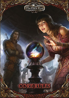 Dark Eye RPG - Core Rules - Pocket Edition - Softcover Book