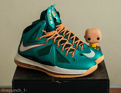 the best attitude 02b28 2468b Nike Lebron X  Dolphins  ASG 9 12 15 8 7 1 2 6 denim