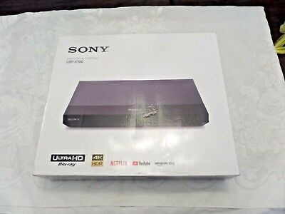 Sony 4K Ultra HD HDR10 Smart Blu-ray DVD Player with Built-in WiFi - UBP-X700