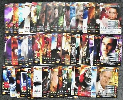 Bundle Lot of 60+ Doctor Who Devastator Common and Rare Trading Cards