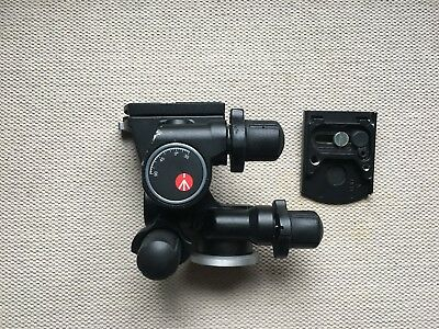 Manfrotto 410 Junior Geared Head with Extra Quick Release Plate