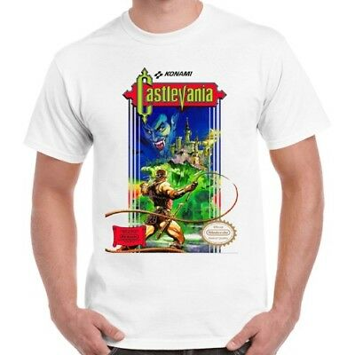 Castlevania Nintendo Vintage Classic Video Game Retro T Shirt 604