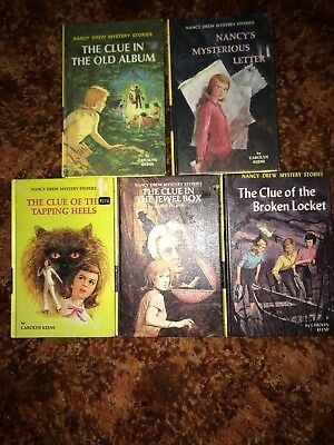 Nancy Drew Files Lot Of 13 Some Vintage Different Paperbacks By